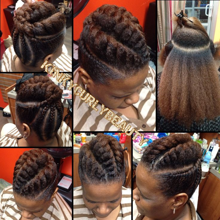 flat twist braids hairstyles 3