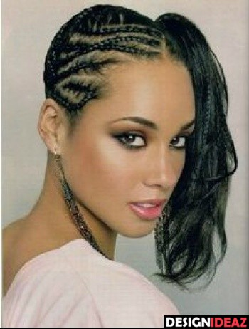 Best African American Braided Hairstyles for long Curly Hair