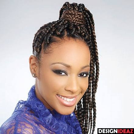 Best Black Braided Hairstyles with a Puff