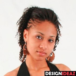 Best Black braided hairstyles for short hair