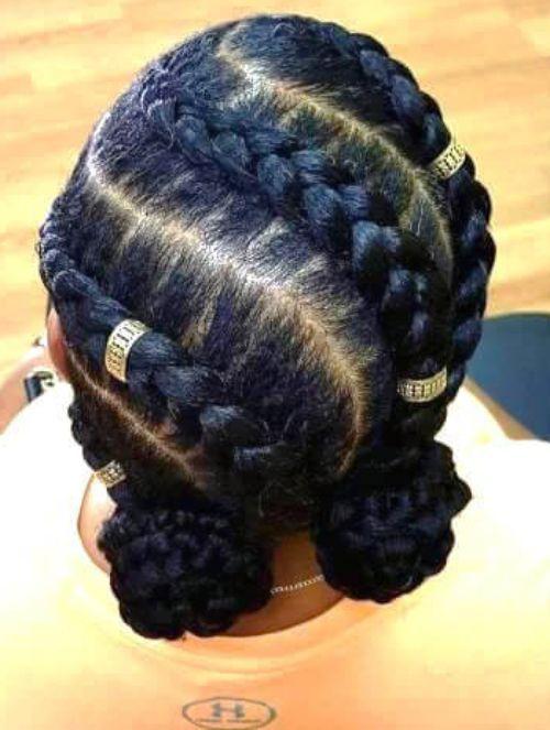 The Latest 26 Trends Of This Season For Ghana Hair Braids hairstyleforblackwomen.net 1