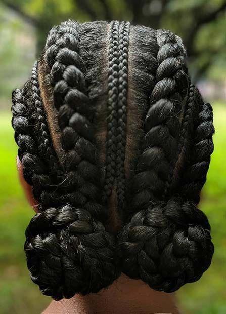 The Latest 26 Trends Of This Season For Ghana Hair Braids hairstyleforblackwomen.net 2