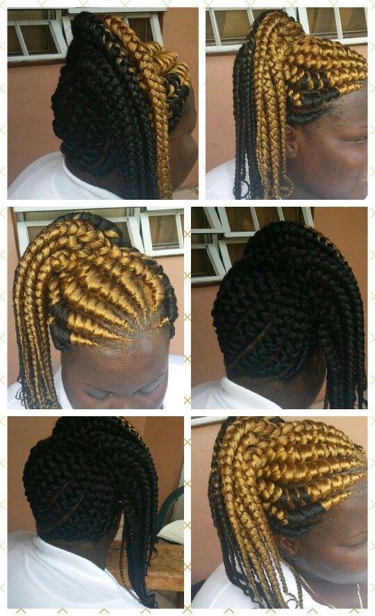 The Latest 26 Trends Of This Season For Ghana Hair Braids hairstyleforblackwomen.net 3