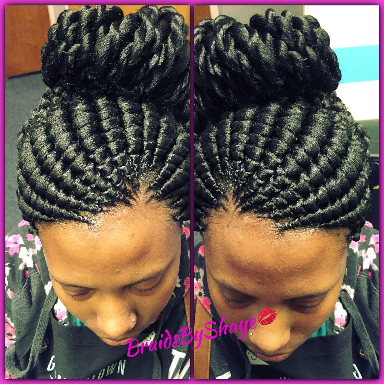 The Latest 26 Trends Of This Season For Ghana Hair Braids hairstyleforblackwomen.net 6