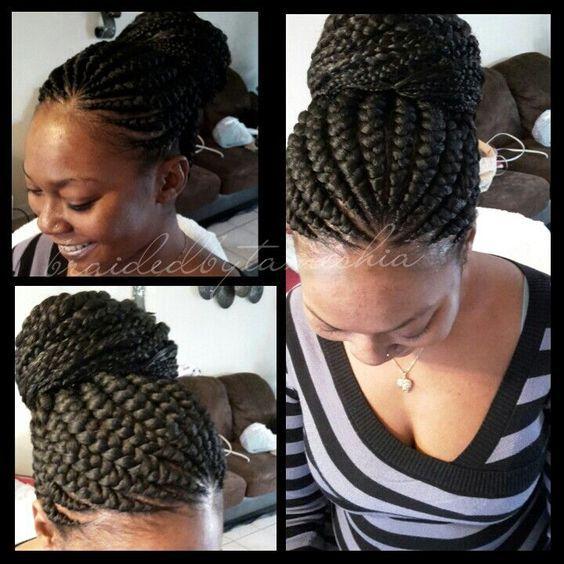 The Latest 26 Trends Of This Season For Ghana Hair Braids hairstyleforblackwomen.net 7