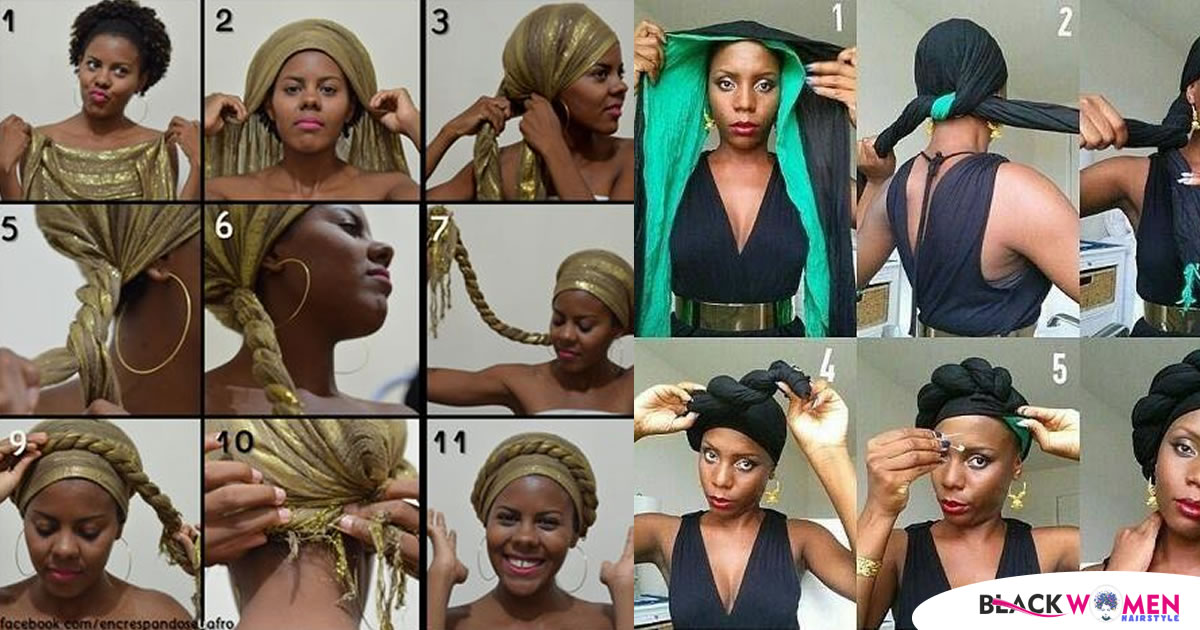 The New Trend For Hair Wraps Will Make You Look Stylish