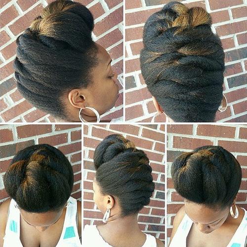 flat twist braids hairstyles 8