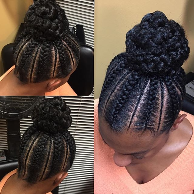 Complete Your Christmas Look With Hair Braiding Models