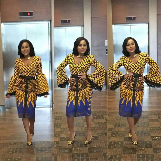 Ankara Short Gown Styles