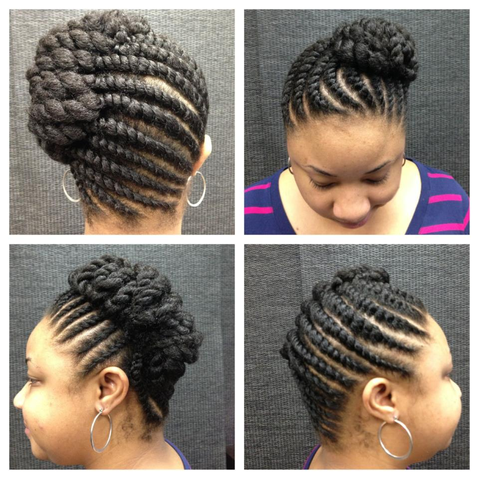 flat twist braids hairstyles 9