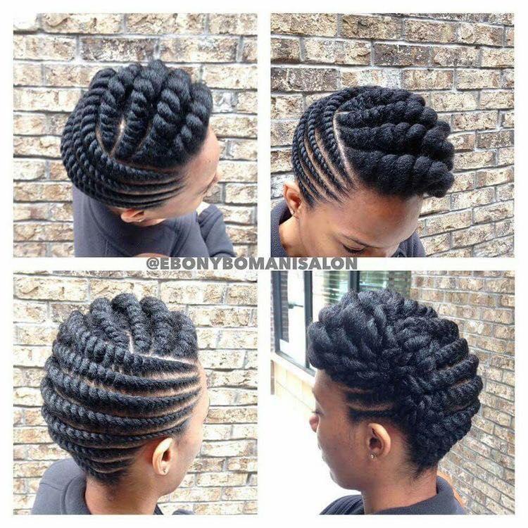 flat twist braids hairstyles 10