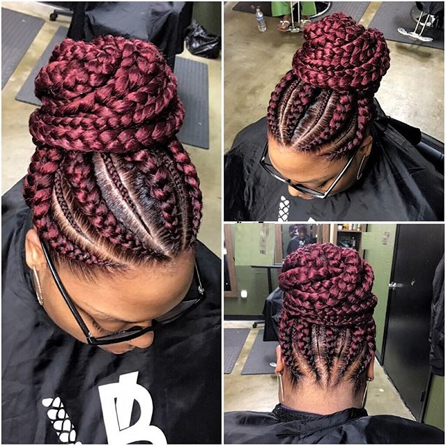 ghana braid styles everyone is rocking now