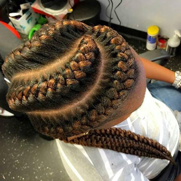 goddess braids 1