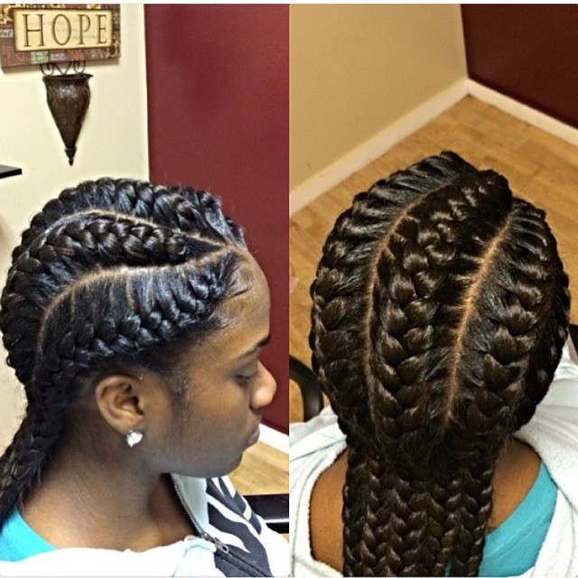 goddess braids 4