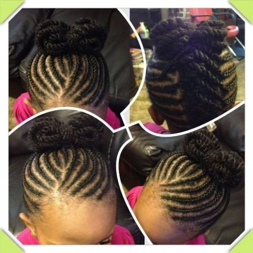 hair styles on pinterest | ghana braids, cornrows and braided inside little girl braiding hairstyles african american little girl braiding hairstyles african american Intended for Your hair - Proper Hairstyles