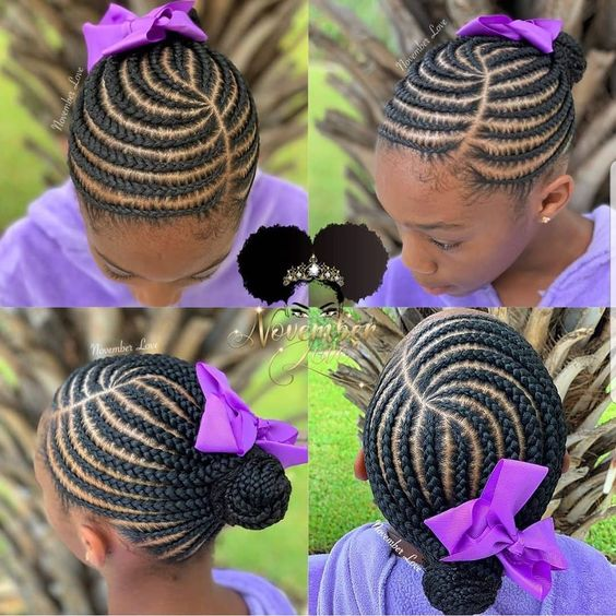 kidshairstyles kidsbraids on nstagram FEATURED novemberlov3 FOLLOW kissegirl Beauty Brand for Hair Skin Nails browngirlshair neatbraids neatprettybraids