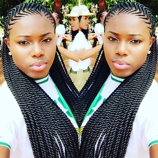 latest african cornrows hairstyles