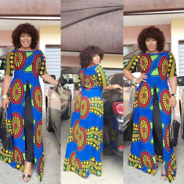 How To Combine Red Color For Aso-Ebi Dress Models