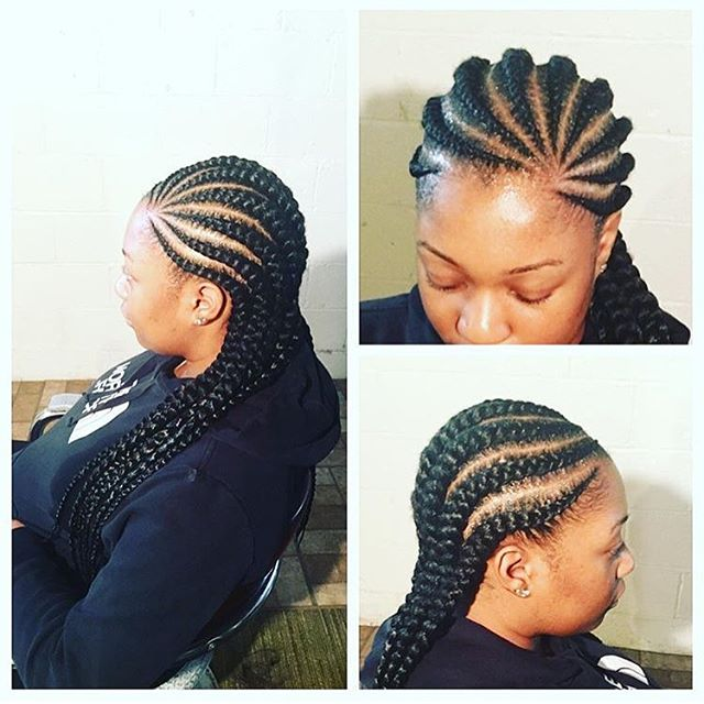 10+ The Most Trendy Ghana Hair Braids For Long Hairs