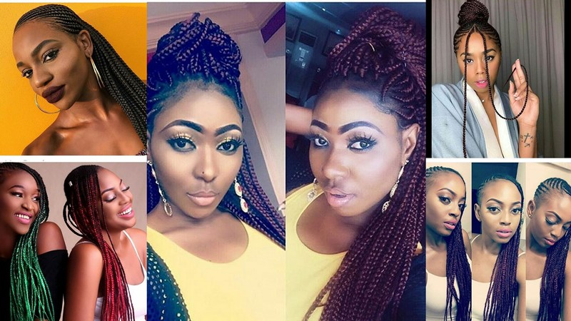 Latest Tail Models For Ghana Hait Braids