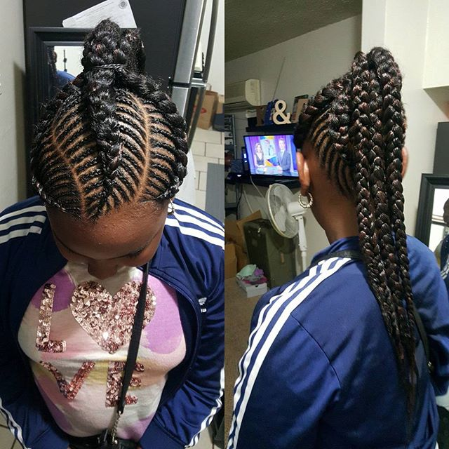 latest ghana weaving hairstyles 4