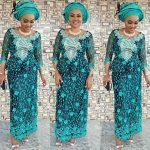 Mercy Aigbe-Gentry Adorable Stylings For Aso-Ebi Dresses
