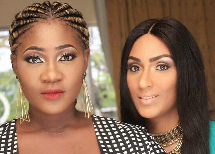 Two Fashion Icons Together – Juliet Ibrahim And Mercy Johnson