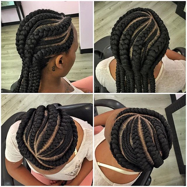 The Most Stylish Ghana Braids For Night Events