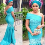How To Make A Shawl Combination In Aso-Ebi Dresses
