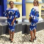 Simple styles of short dress in Ankara