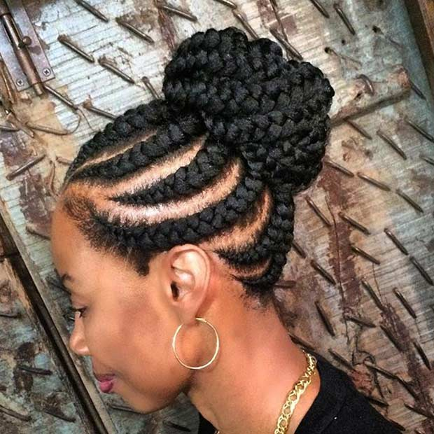 straight up braids 6