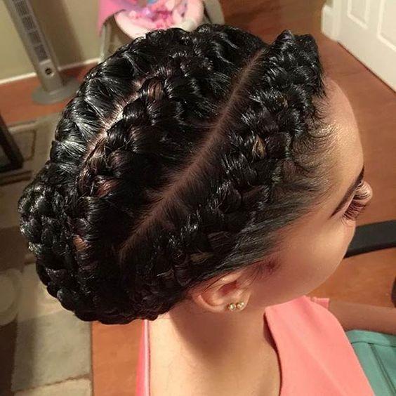 The Most Trendy Designs For Ghana Hair Braidings