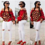 Top 10  Distinctive Ankara Off Shoulder Kinds 2020
