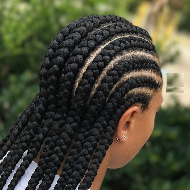 New Ghana Hair Braid Models For This Winter Season