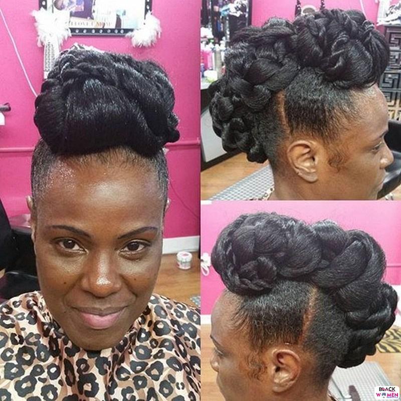 Natural hair updos 006