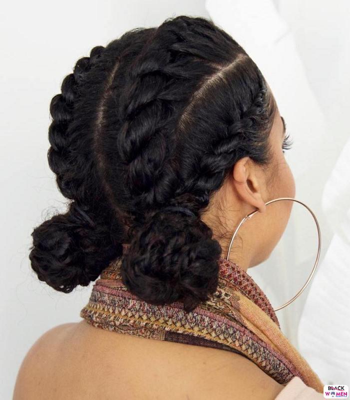 Natural hair updos 008