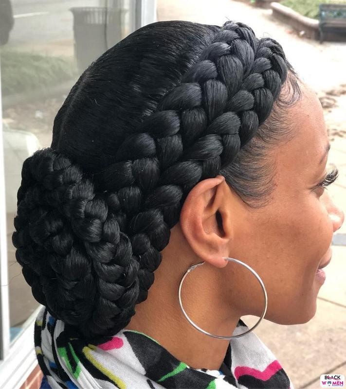 Natural hair updos 012
