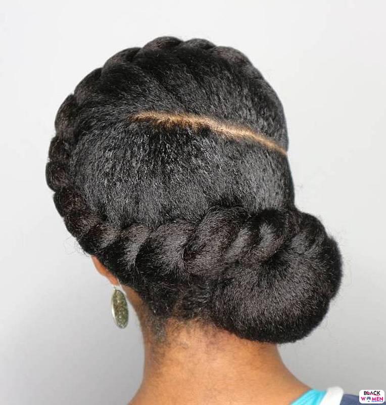 Natural hair updos 014