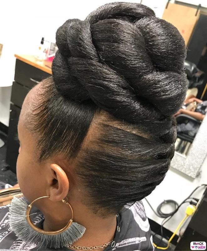 Natural hair updos 015