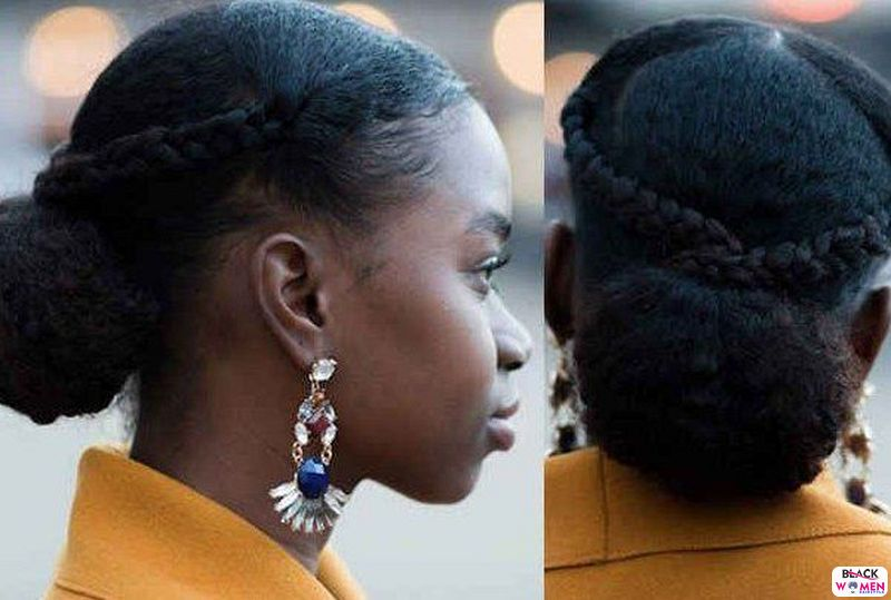Natural hair updos 016