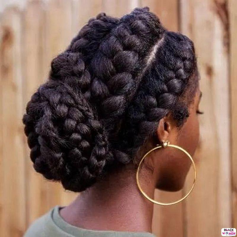 Natural hair updos 025