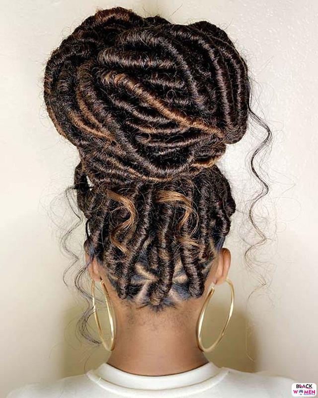 Natural hair updos 026