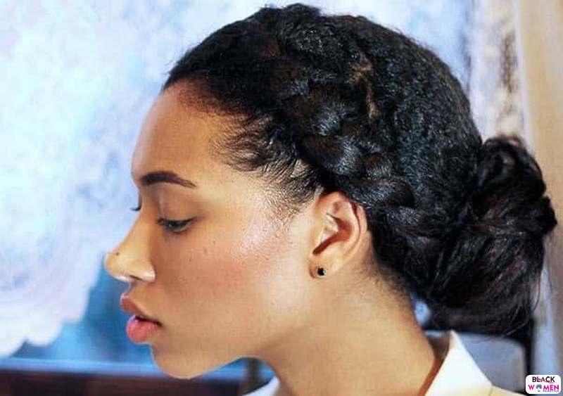 Natural hair updos 028
