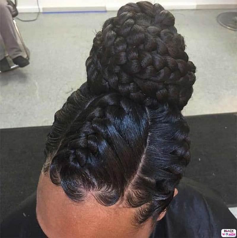 Natural hair updos 029