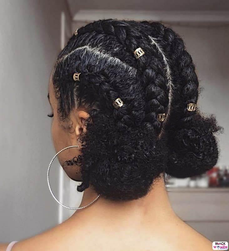 Natural hair updos 033