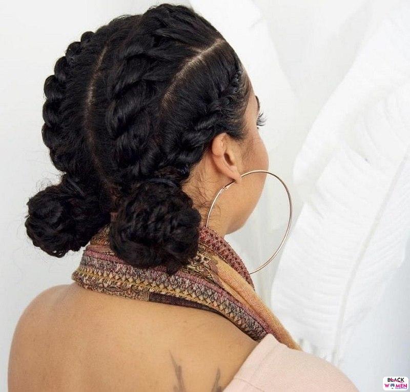 Natural hair updos 034