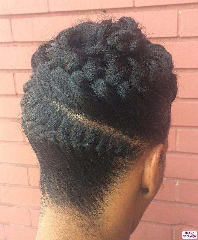 Natural hair updos 035