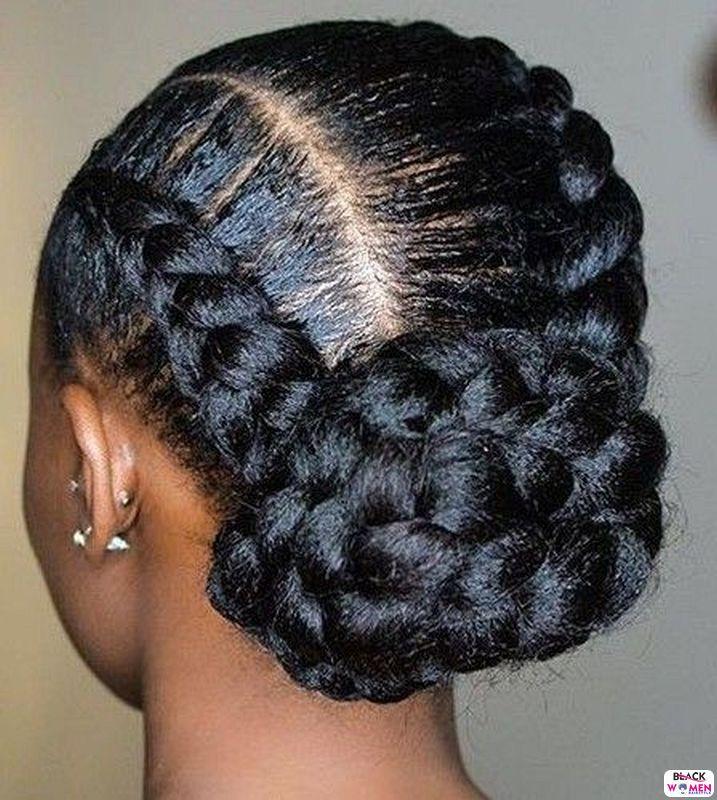 Natural hair updos 037