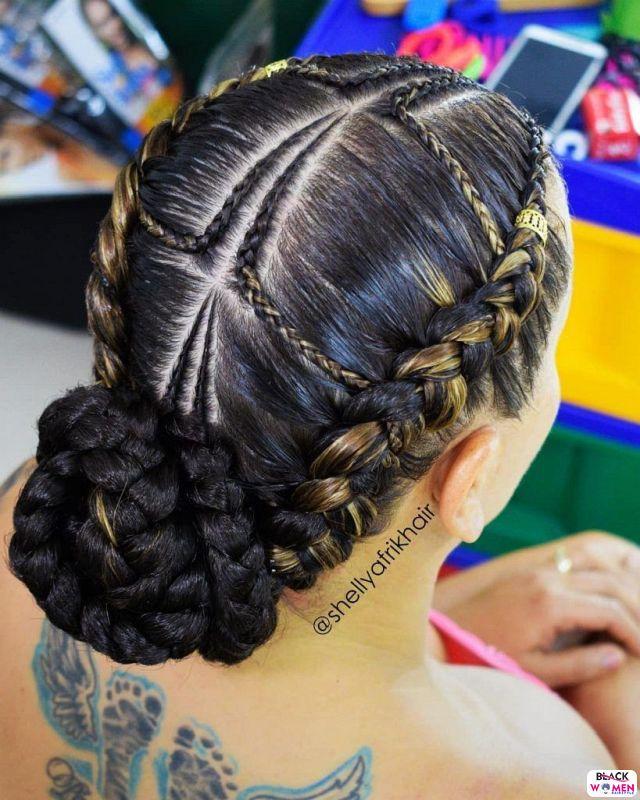 Natural hair updos 039
