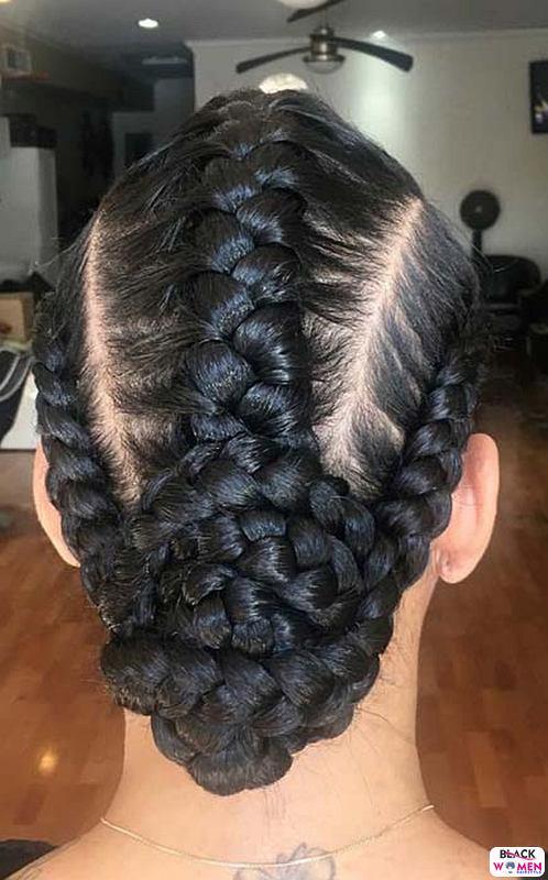 Natural hair updos 041